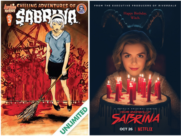 Sabrina the Teenage Kitsch